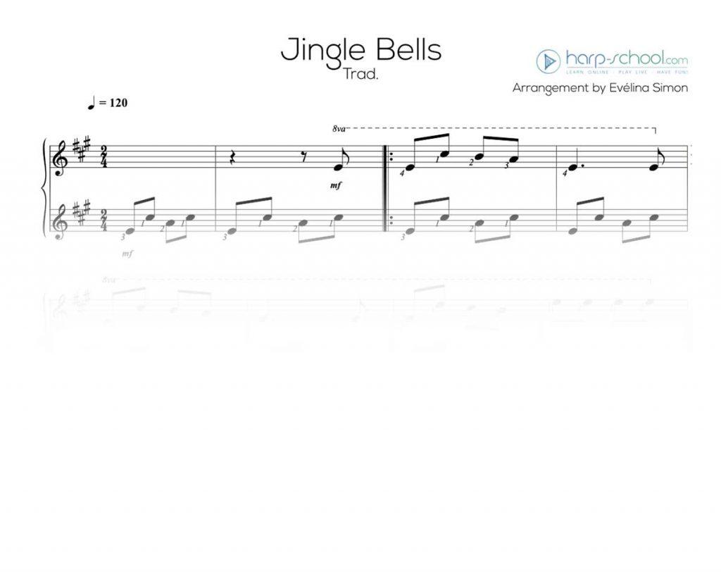 picture regarding Free Printable Lap Harp Sheet Music titled Xmas Pack